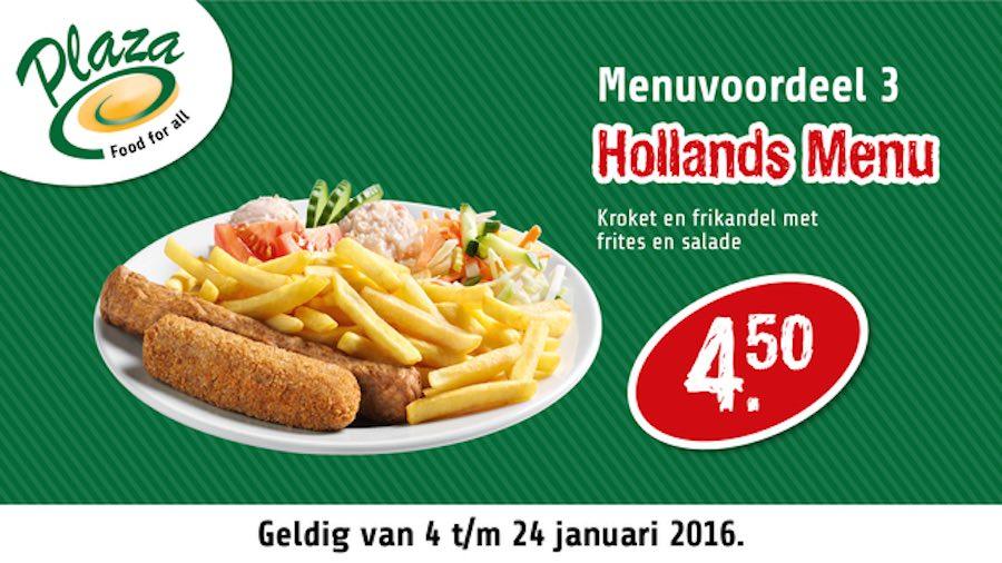 frikandel kroket menu hollands menu